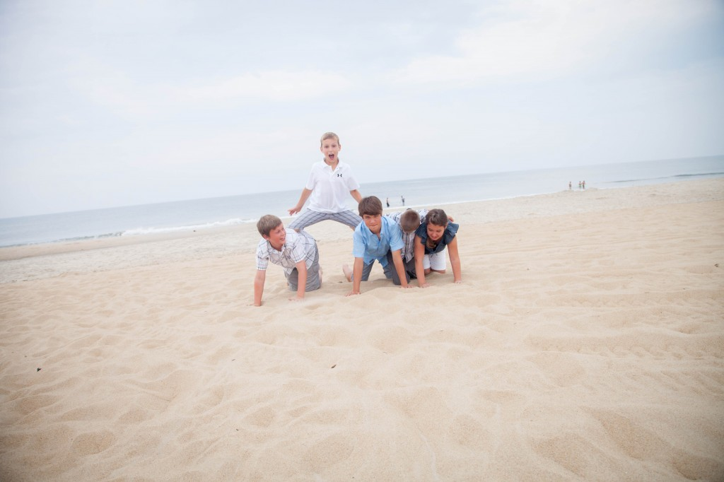 Outerbanks family photoshoot